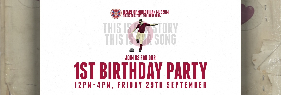 Hearts Museum's 1st Birthday Party