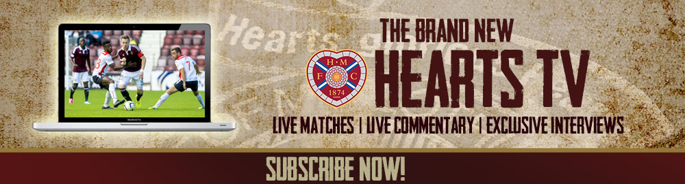 Score with Hearts TV