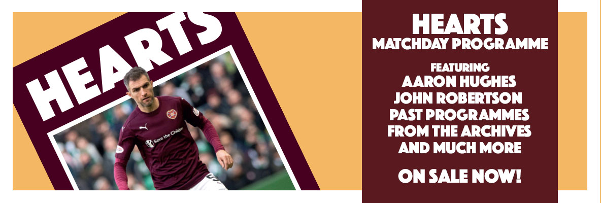 Matchday programme now on sale