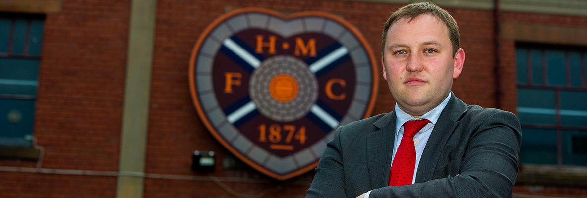 Ian steps down from Tynecastle board