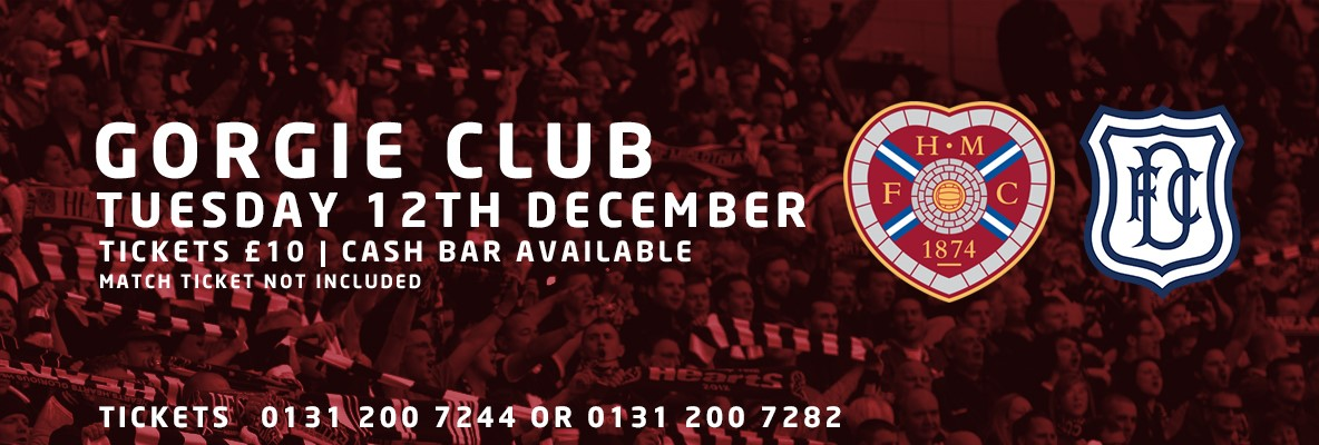 Gorgie Club returns for Dundee clash