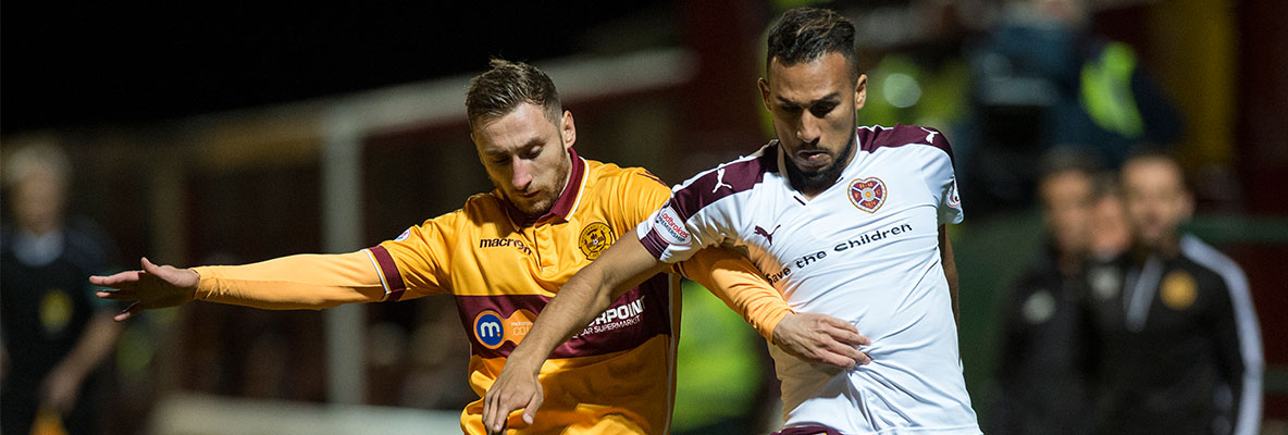 Motherwell 1-3 Hearts