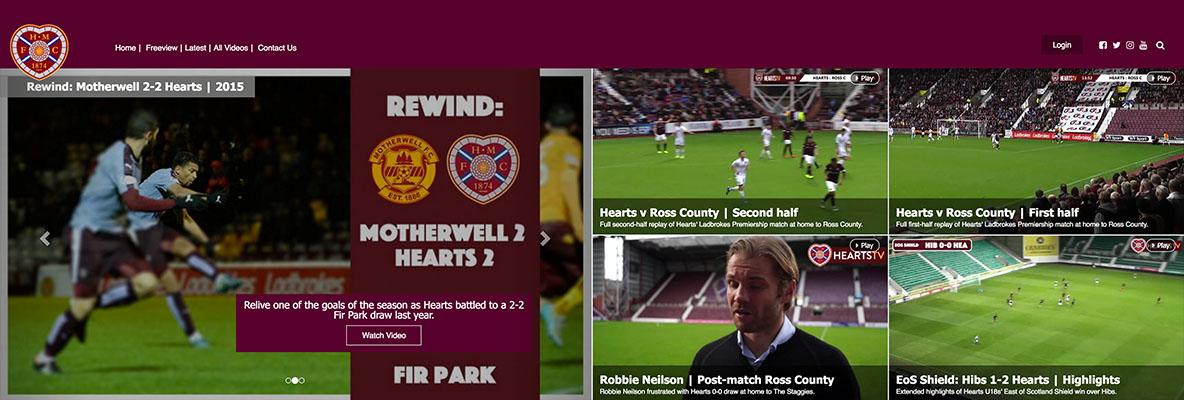 New HeartsTV site launched