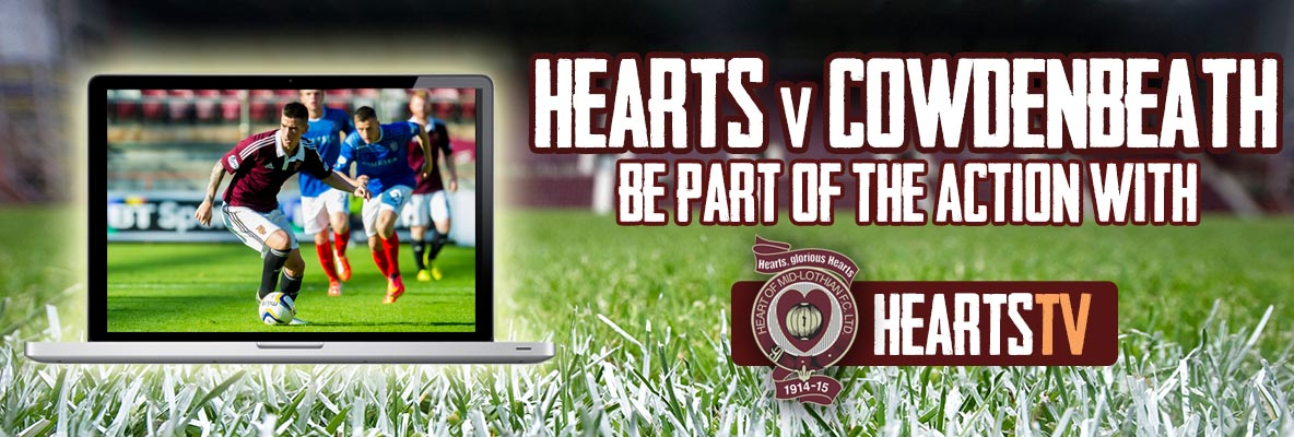 Hearts v Cowdenbeath | Matchday coverage