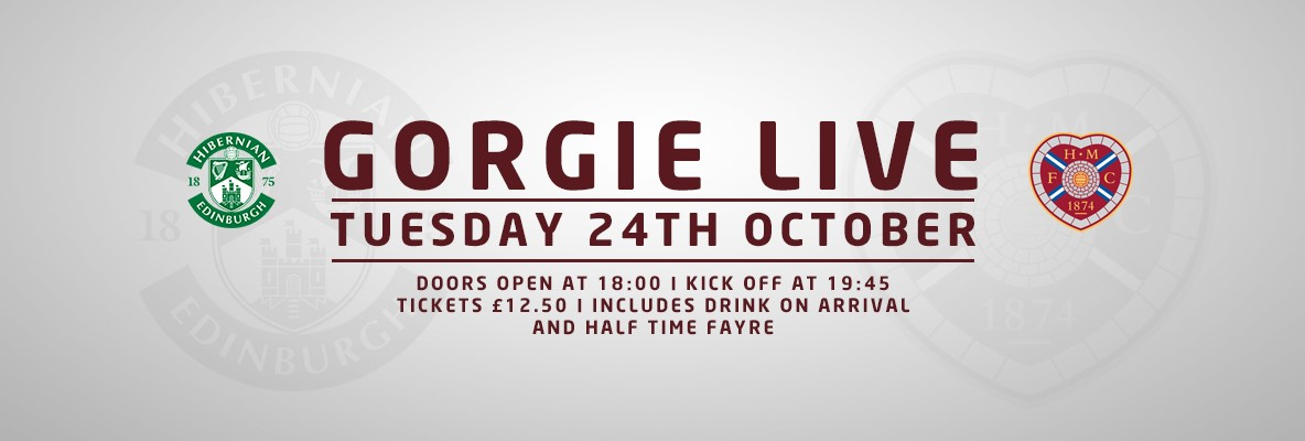 Gorgie Live returns for Hibs clash