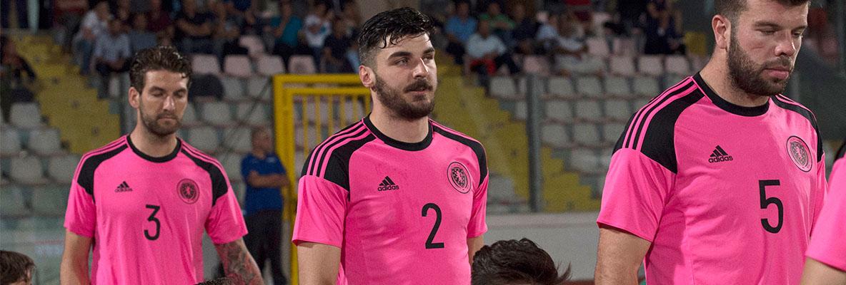 Callum's Scotland debut