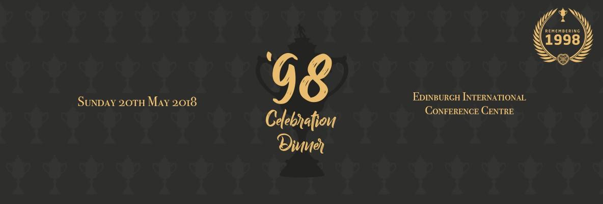 1998 Scottish Cup Celebration Dinner