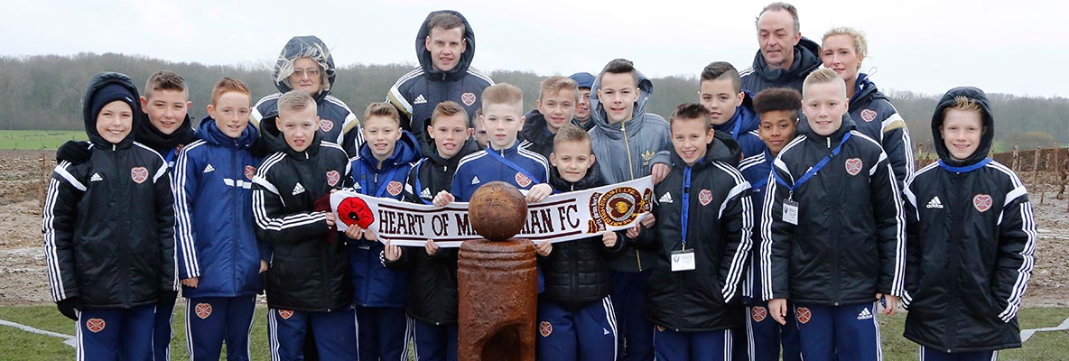In Pictures: Hearts U12s at Ypres