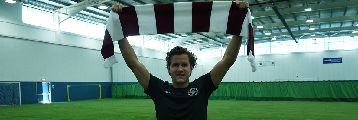 Hearts snap up Haring