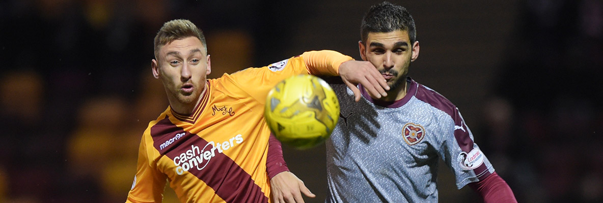 Motherwell 2-2 Hearts