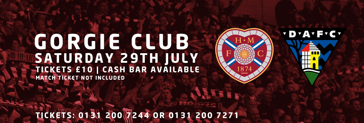 Gorgie Club: Hearts v Dunfermline