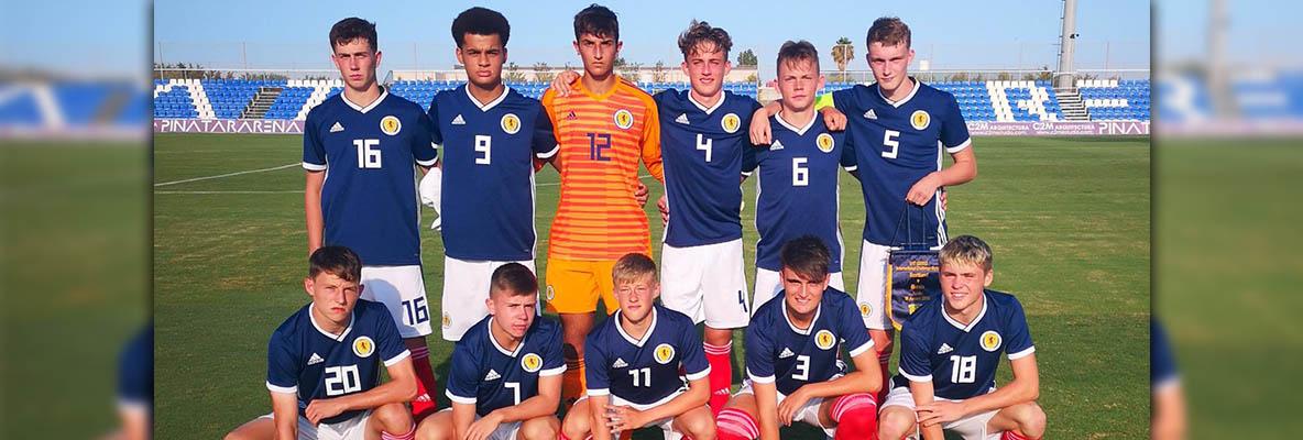 Hearts trio help Scotland U17s to victory