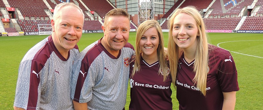 Hearts Ladies to take on the Hearts Legends