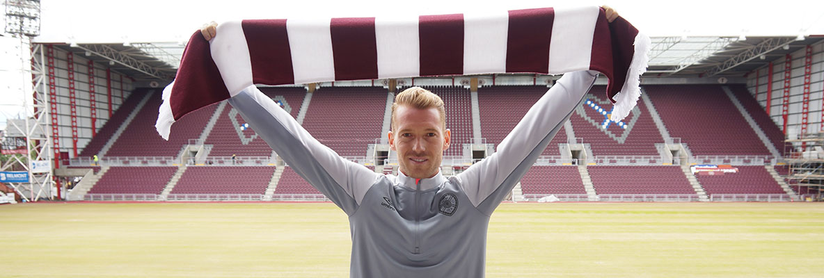 Bozanic joins Hearts
