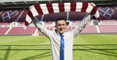 Hearts snap up Burns