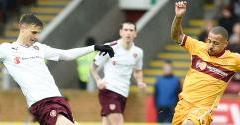 Motherwell 0-3 Hearts
