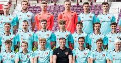 Hearts U20s in action on Monday