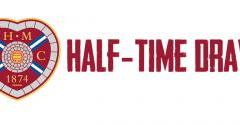 Hearts half-time draw