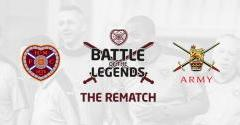 Rematch: Hearts Legends v The Army