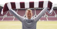 Bozanic joins Hearts