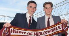 Academy duo sign full time
