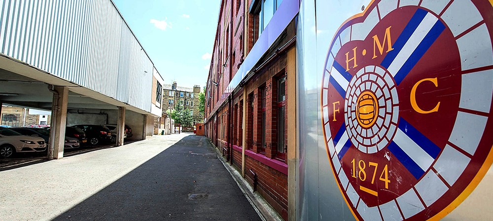 Power outage at Tynecastle