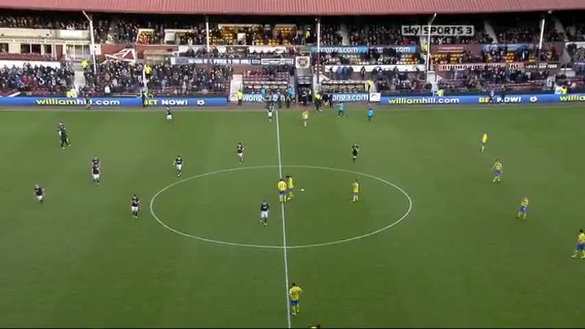 Hearts v St Johnstone - Full Match February 2012