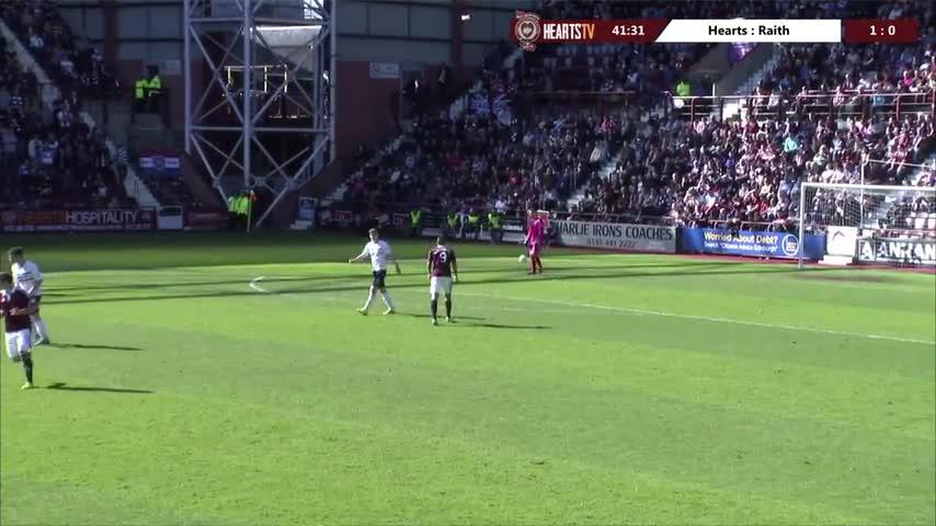 Hearts 2-1 Raith Rovers | Highlights