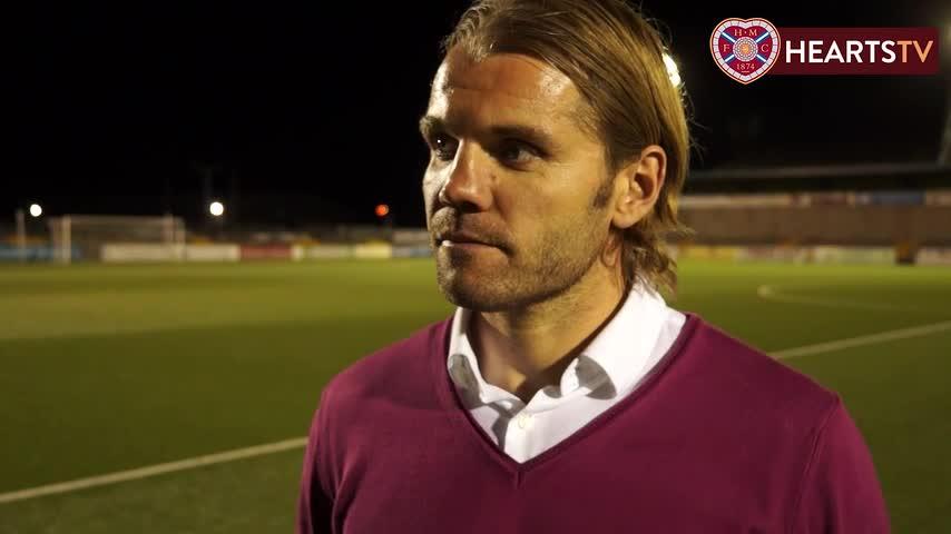 Robbie Neilson | Post-match Forfar